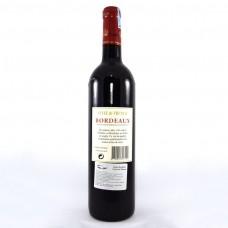 Chai rượu Bordeaux Cuvée de Thussac mặt trước
