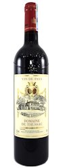 Chai rượu Domaine de Thussac với giá rẻ